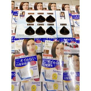 Nhuộm phủ bạc salon de pro nhật bản( chính hãng ) thumbnail