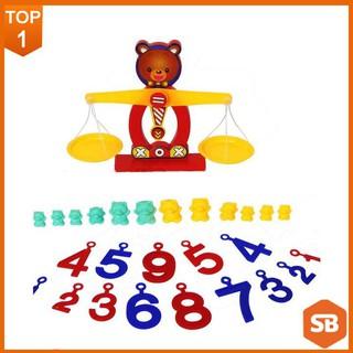 [Sale Off] Bộ học cân nặng cân bằng thú vị Dream Toy (Giao màu ngẫu nhiên)