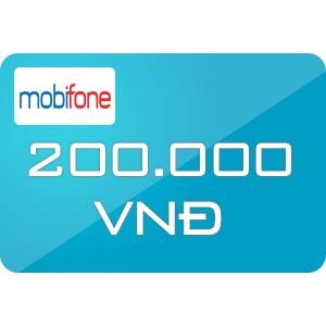 Thẻ cào mobi 200k