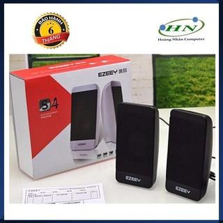Loa vi tính 2.0 Ezeey S4 S5 Âm thanh hay sử dụng cổng USB nguồn 5V thumbnail