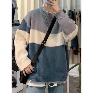 Áo len nam dày 3 màu style Hàn Quốc