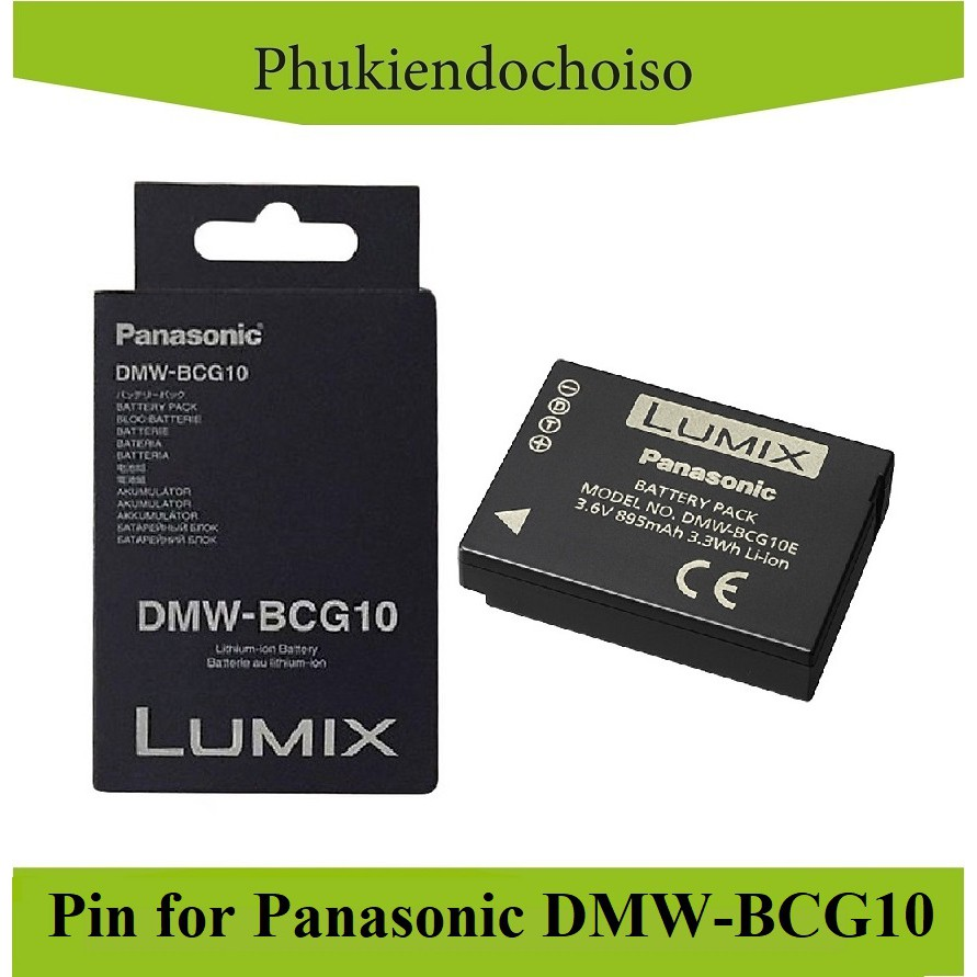 Bộ pin sạc thay thế for Panasonic DMW-BCG10