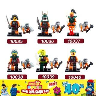 Minifigures Các Nhân Vật Ninjago DECOOL 10035-10040 - Đồ Chơi Lắp Ráp [B18] thumbnail
