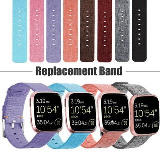 Dây thay thế Nylon Denim Canvas dành cho Fitbit Versa