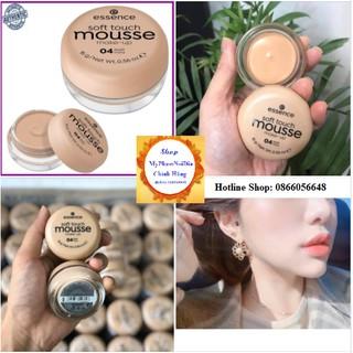 Phấn Tươi Make Up Của Đức Essence Mousse - Mỹ Phẩm Nội Địa Chính Hãng.( Mẫu mới 2020 Chữ Đen ) thumbnail