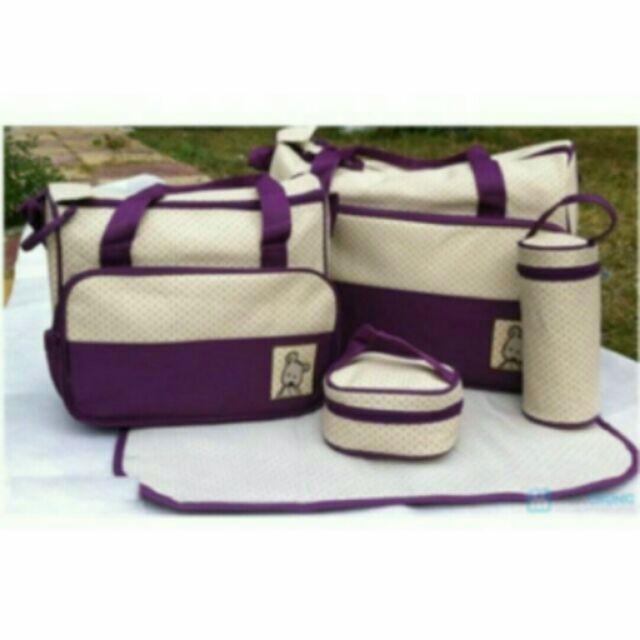 Sét túi 5 chi tiết cho mẹ và bé. - 2456611 , 3896118 , 322_3896118 , 165000 , Set-tui-5-chi-tiet-cho-me-va-be.-322_3896118 , shopee.vn , Sét túi 5 chi tiết cho mẹ và bé.
