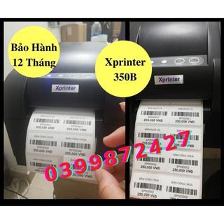 Máy in Tem Nhiệt – Máy In đơn Hàng Shopee Xprinter 350B Cổng USB