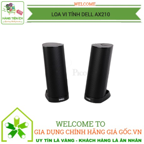 Loa Vi tính DELL AX210 ( loa 2.0 dùng nguồn USB ) - 22969619 , 2605724587 , 322_2605724587 , 189000 , Loa-Vi-tinh-DELL-AX210-loa-2.0-dung-nguon-USB--322_2605724587 , shopee.vn , Loa Vi tính DELL AX210 ( loa 2.0 dùng nguồn USB )