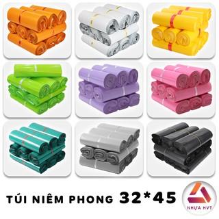 Túi gói hàng , túi đóng hàng có sẵn keo dính NHỰA HVT HCM size 32*45