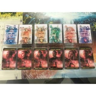 Avenger Endgame Card