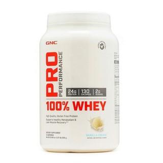 GNC Pro Performance 100% Whey Protein loại 850g giúp tăng cơ bắp, dành cho người tập gym