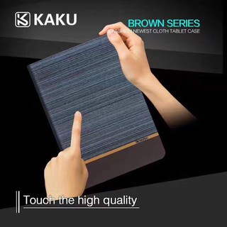 Bao da ipad KAKU Brown vân gỗ thời trang cho IPad air, air 2, pro 9,7in( Ipad 5 6 7)