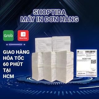 Giấy in nhiệt tự dán Shoptida tiết kiệm chi phí đóng gói không bị phai chữ khổ a6 ( 10x15cm ) 8000 tờ