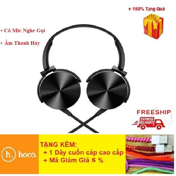 Tai Nghe Chụp Tai 💎Có Mic + Âm Thanh Hay💎 Tai Nghe headphone Extra Bass 450AP - BH 6 Tháng