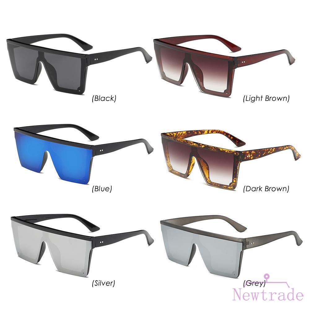 △ Autumn BAG Fashion Square Frame Sunglasses Goggle Women Men Casual Driving Sun Glasses