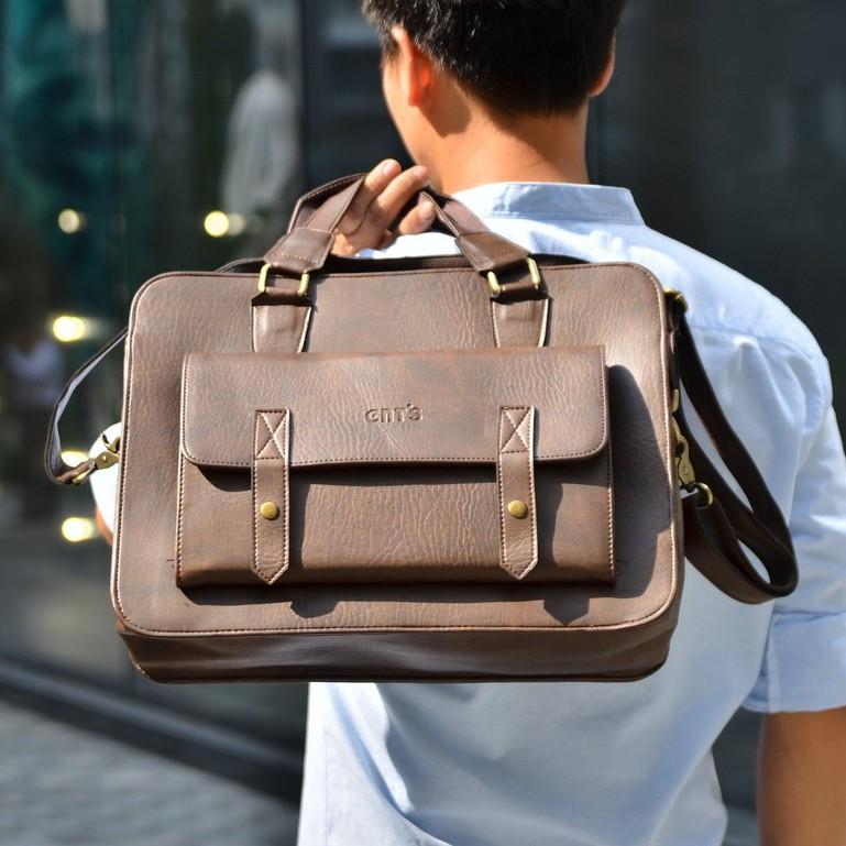 Cặp da công sở, túi đựng laptop hàng chính hãng