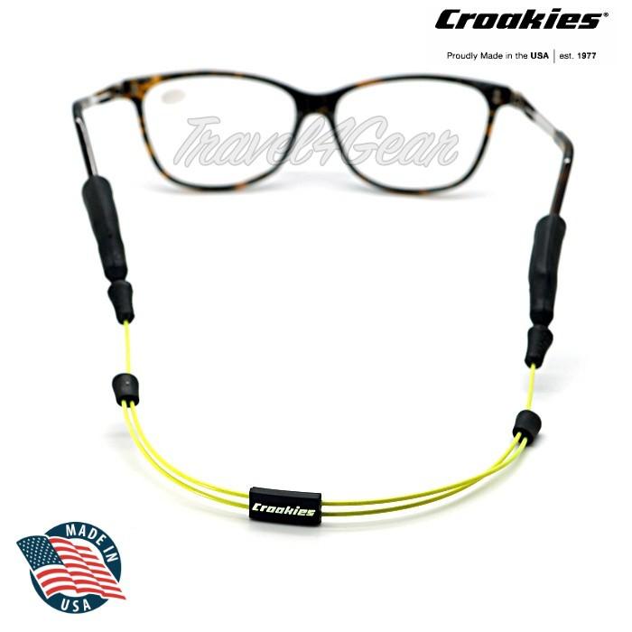 สายคล้องแว่น Croakies รุ่น ARC Endless สีเหลือง 16