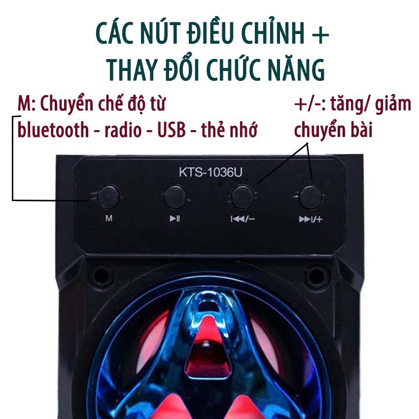 [BH 24 THÁNG] Loa Kẹo Kéo Karaoke Bluetooth Mini KTS1036 - Tiện lợi - Âm to - Cực đã - Tặng 1 Mic Hát Cao Cấp 100K - 14322877 , 2447628546 , 322_2447628546 , 225000 , BH-24-THANG-Loa-Keo-Keo-Karaoke-Bluetooth-Mini-KTS1036-Tien-loi-Am-to-Cuc-da-Tang-1-Mic-Hat-Cao-Cap-100K-322_2447628546 , shopee.vn , [BH 24 THÁNG] Loa Kẹo Kéo Karaoke Bluetooth Mini KTS1036 - Tiện lợ