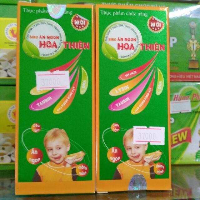 Siro ăn ngon Hoa Thiên giúp bé phát triển toàn diện