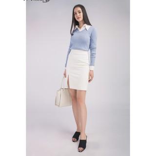 [Mã WABR1550 - 10% - ĐH từ 250K]Áo len nữ dáng dài cổ V IVY moda MS 58B4852 thumbnail