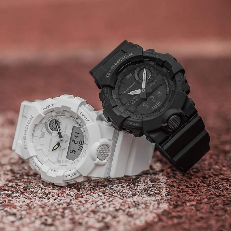 นาฬิกาบลูทูธมัลติฟังก์ชั่นสำหรับการเล่นกีฬาของ Casio สำหรับผู้ชายของเรา gbA-800-1A 2A 2A 3A