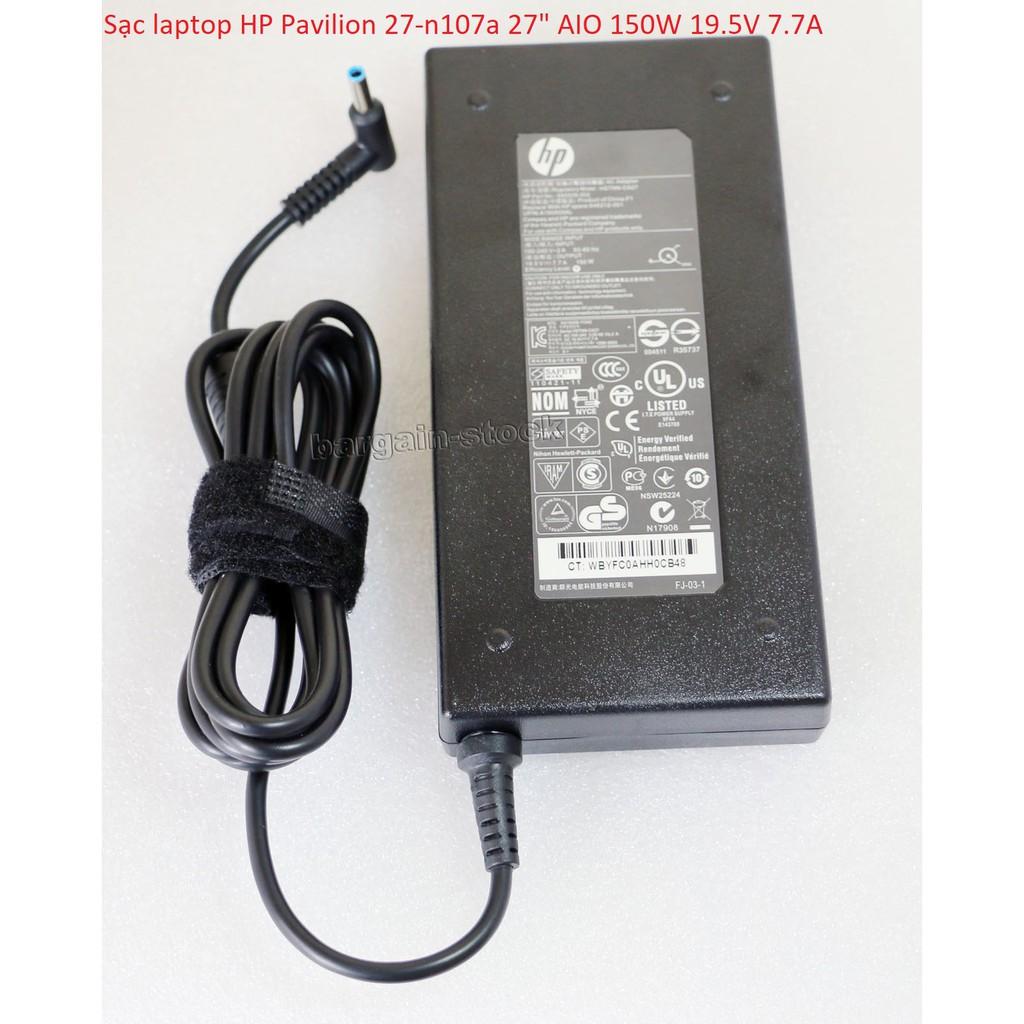 Sạc laptop HP Pavilion 27-n107a 27″ AIO 150W 19.5V 7.7A Giá chỉ 550.000₫