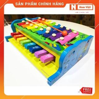 Đàn Piano đa năng kết hợp đàn gõ âm thanh 2 tầng cho bé chơi âm nhạc