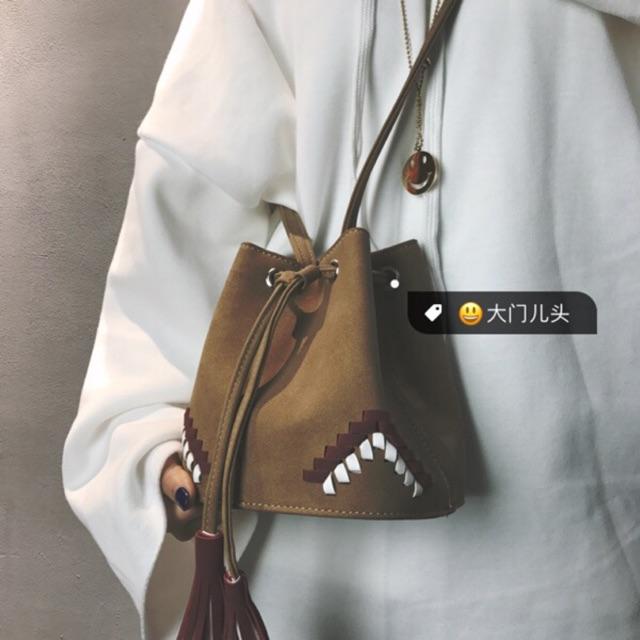 Túi xách thời trang hoạ tiết thổ cẩm MST116