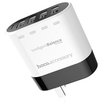 Sạc HOCO UH-401 4 cổng USB Smart Charger (Trắng)