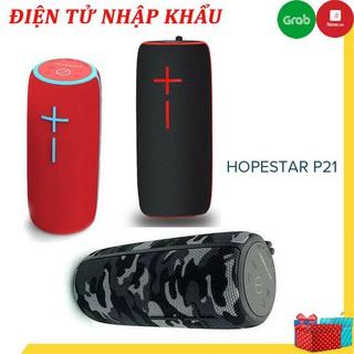 Loa Bluetooth mini HopeStar P21 TWS kết nối cùng lúc 2 loa - chống nước tiêu chuẩn IPX6, Bh 6 tháng