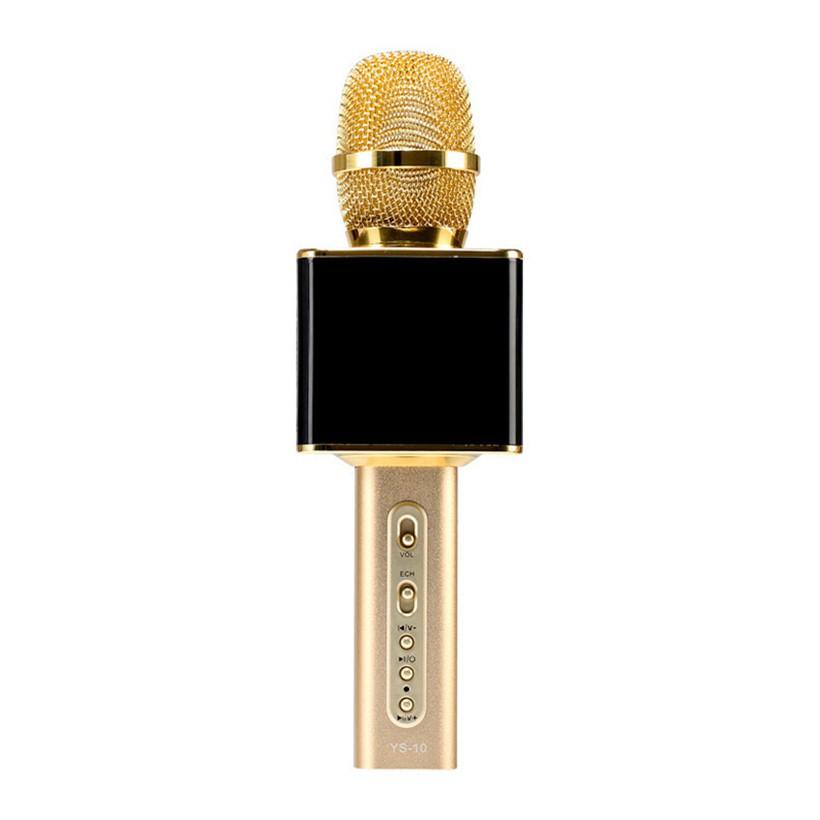 Micro kèm loa Magic Karaoke YS-10 Vàng đen