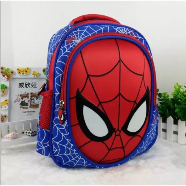 Balo siêu nhân nhện cho bé siêu