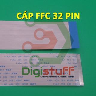 Cáp phẳng AWM 20624 32 pin thay cáp Xinya CviLux HAMBURG-SH-HF High-Tek JI-HAW AWM 20706 20861
