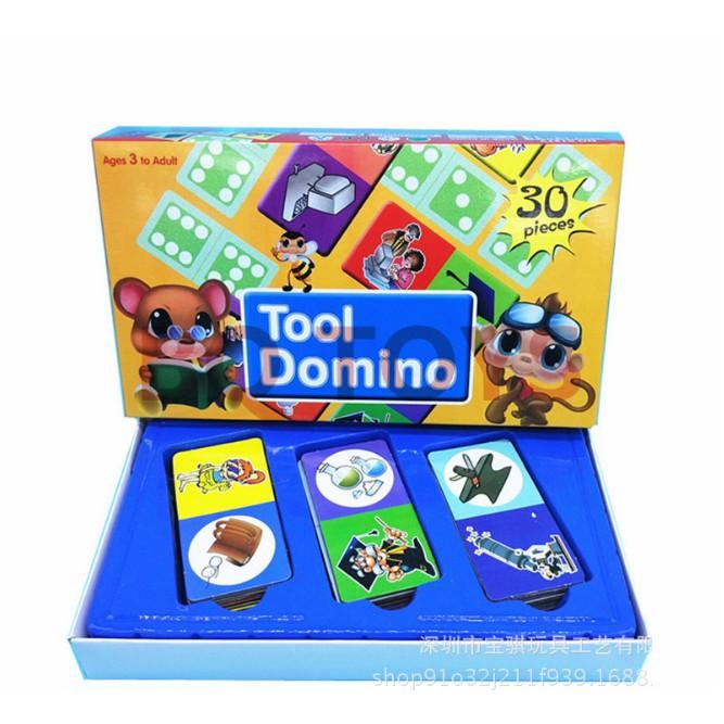Đồ chơi giáo dục cho trẻ em Công cụ Domino