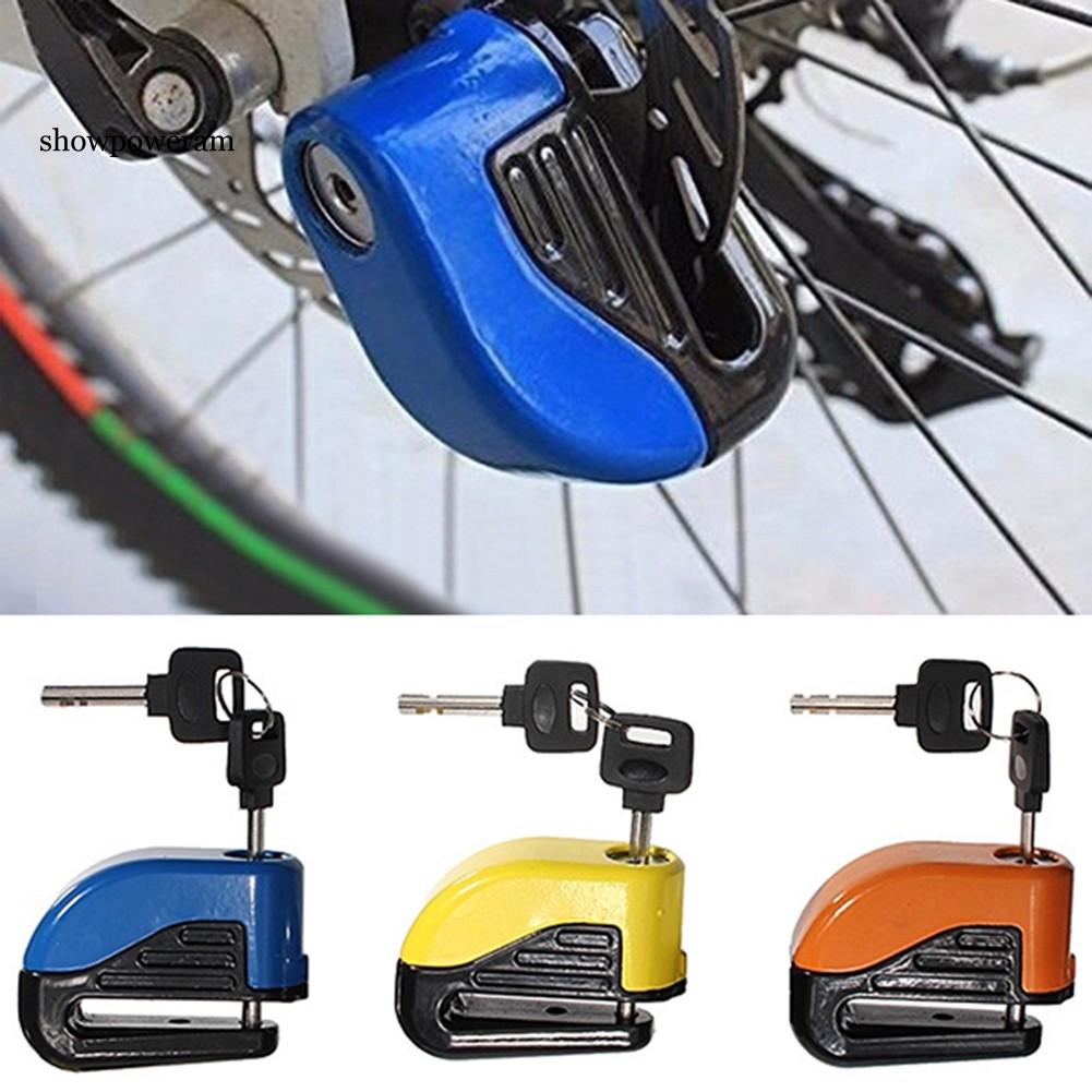 Khóa đĩa báo động chống trộm cho xe máy , xe đạp