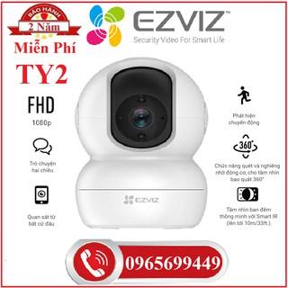 Camera Wifi Ezviz TY2 2Mp 1080p, EZVIZ C6N 2M 1080P , Ezviz C6W 4Mp Siêu Nét 2K, Ổ Cắm Wifi T30-10B-Chính Hãng thumbnail