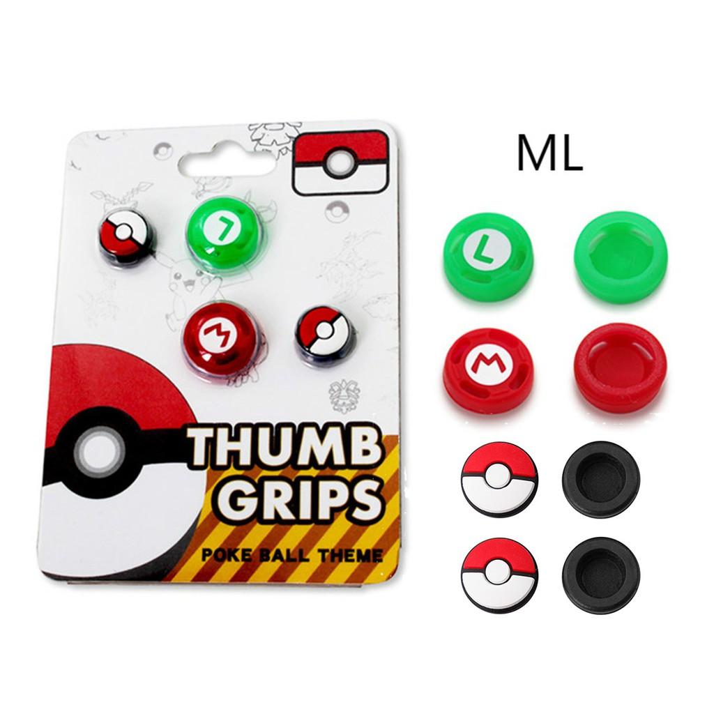 Bộ 4 nút bấm thay thế cho tay cầm chơi game Nintendo Switch Joy-Con