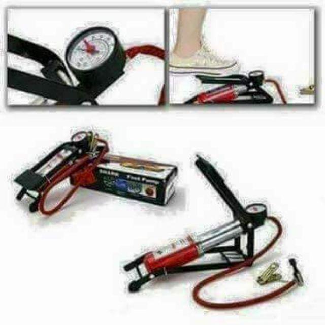 Bơm hơi đạp chân mini ô tô có đồng hồ đo áp suất lốp. - 2471841 , 1138866964 , 322_1138866964 , 75000 , Bom-hoi-dap-chan-mini-o-to-co-dong-ho-do-ap-suat-lop.-322_1138866964 , shopee.vn , Bơm hơi đạp chân mini ô tô có đồng hồ đo áp suất lốp.