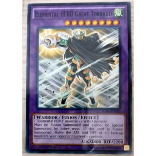 [Thẻ Yugioh] Elemental HERO Great Tornado