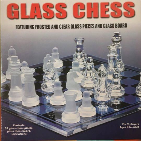 CỜ THỦY TINH | GLASS CHESS SET