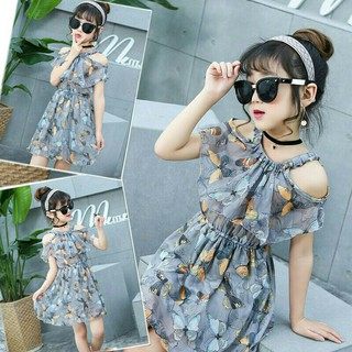 Váy bé gái, Váy đầm voan lụa thời trang cho bé size đại (11-36kg)