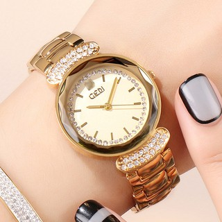 [CÓ VIDEO - ẢNH THẬT] Đồng hồ nữ GEDI 3040 chính hãng mặt 3D cực xinh.