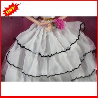 [Giá Rẻ Nhất] Búp bê công chúa váy trắng đáng yêu