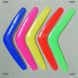 【FLYUP】V Shaped Boomerang Toy Kids Throw Catch Outdoor Game Plastic Toy