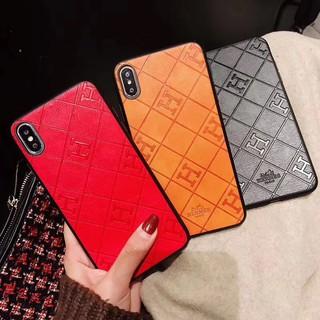 Ốp Điện Thoại Bằng Da Hermes Cho Iphone 11 7 Plus Ix Xs Xr Xsmax
