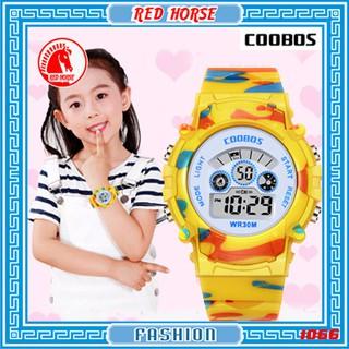 Đồng hồ trẻ em bé trai, bé gái Coobos 1066 (4 màu)