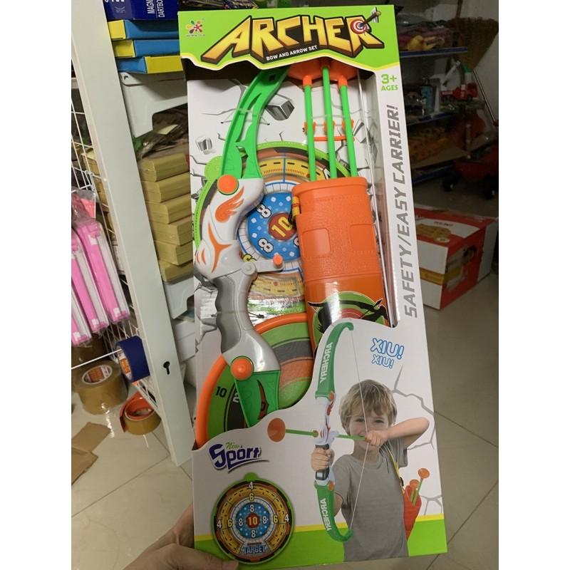 Cung bắn tên đồ chơi, an toàn cho bé! (giao mẫu ngẫu nhiên)
