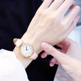 Đồng hồ thời trang nữ Huans mặt la mã S9