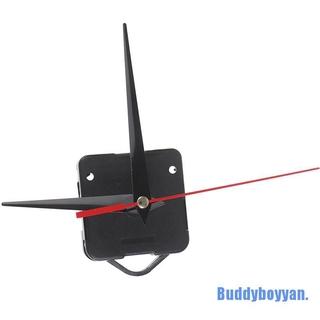 Bộ Máy Đồng Hồ Treo Tường Màu Đen Diy Không Gây Tiếng Ồn