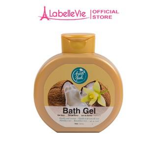 Gel tắm dưỡng da Fresh Feel hương vani - dừa 750 ml